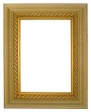 Frame antigo do ouro Fotos de Stock Royalty Free