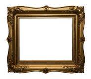 Frame antigo do ouro fotografia de stock