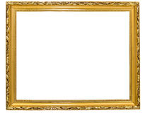 Frame antigo do ouro Foto de Stock