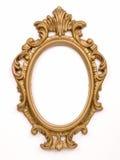 Frame antigo do ouro Foto de Stock Royalty Free