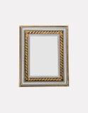 Frame antigo isolado Imagens de Stock