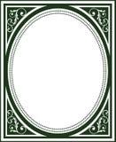 Frame antiquado da tampa de livro Imagem de Stock