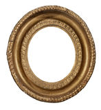 Frame antique vintage oval hanging picture fame with clipping pa royalty free stock photo