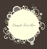 Frame arredondado bonito Imagem de Stock Royalty Free