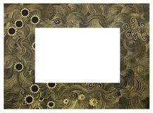 frame artístico imagens de stock
