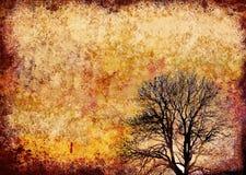 Frame artístico do grunge Fotografia de Stock Royalty Free