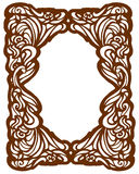 Frame Art Nouveau Stock Photos