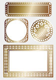 Frame of art Nouveau Royalty Free Stock Photo