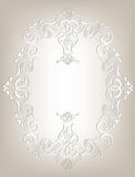 Frame in the Art Nouveau style Stock Images