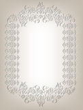 Frame in the Art Nouveau style Royalty Free Stock Images