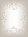 Frame in the Art Nouveau style Royalty Free Stock Photography