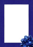 Frame azul Imagens de Stock Royalty Free