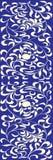 Frame azul ilustração royalty free