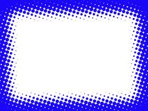 Frame azul abstrato Foto de Stock Royalty Free