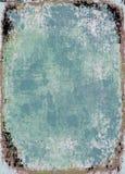 Frame azul do grunge imagens de stock royalty free