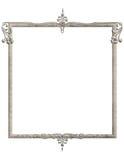 Frame azul do Victorian de Gemstone Fotos de Stock Royalty Free