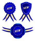 frame azul novo Ilustração do Vetor