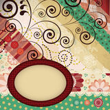 Frame background royalty free illustration