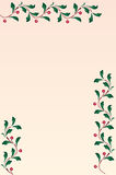 Frame background. Illustration,  frame,  decorative borders coloured flowers. See the rest in the series as well Stock Image
