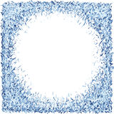 Frame/background, hand-drawn, each color is on separate layer for easy recoloring Stock Photo