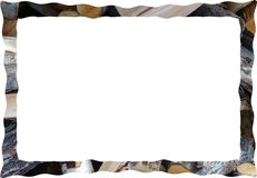 Frame background pattern for text photo Stock Image