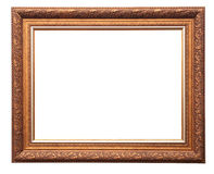 Frame from baguette Royalty Free Stock Image