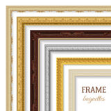 Frame Baguettes Set Royalty Free Stock Photo