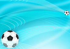 Frame with the ball Royalty Free Stock Photography