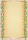 Frame with bamboo Royalty Free Stock Image