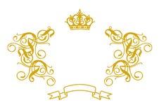 Frame Barokke II royalty-vrije illustratie