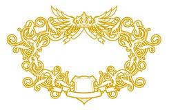 Frame Barokke VI royalty-vrije illustratie
