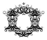 Frame Baroque I. (illustration, vector, design, retro, art Stock Images