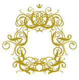 Frame Baroque I Royalty Free Stock Images