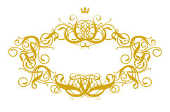 Frame Baroque III Royalty Free Stock Photography
