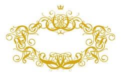 Frame Baroque III. (illustration, vector,   design, retro, art Royalty Free Stock Photography