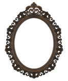 Frame. Baroque picture frame to put your own pictures in Royalty Free Stock Photo