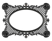 Frame. Baroque picture frame to put your own pictures in Royalty Free Stock Photos