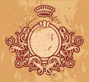 Frame Baroque VIII. ( grunge version Stock Photo