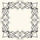 Frame barroco Imagens de Stock Royalty Free