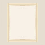 Frame beige. Frame for photo beige and information. vector format Royalty Free Stock Photography