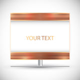 Frame. Billboard. Banner Royalty Free Stock Images