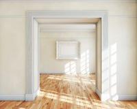 Frame in binnenland Stock Fotografie