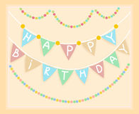 Frame birthday. banner Royalty Free Stock Photography