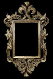 Frame on Black Royalty Free Stock Photos