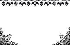Frame Black And White Stock Photo