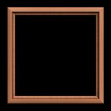 Frame on the black background Royalty Free Stock Photo