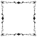Frame in black and white Stock Photos