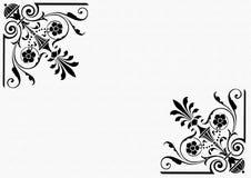 Frame black and white stock illustration