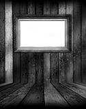 Frame in Black and White Room Stock Photos
