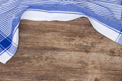 Frame of  blue  napkin Stock Images